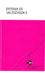 Értékek és változások II. 1300 Ft