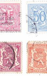 régi belga bélyegek 300 Ft/db