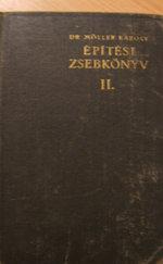 Építési zsebkönyv II.