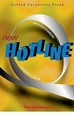 New Hotline pre-intermediate student's book
