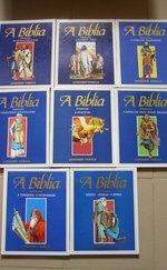 Bibliai könyvcsomag gyerekeknek, rajzos formában/