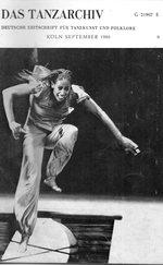 Das Tanzarchiv Deutsche Zeitschrift für Tanzkunst und Folklore