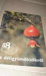 88színes oldal a déligyümölcsökről/ 1960