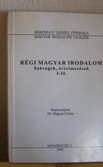 Régi magyar irodalom-szövegek,értelmezések/ 067