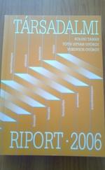 Társadalmi Riport 2006