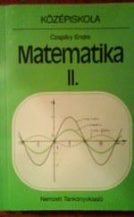 Matematika 2. (középiskolák számára)