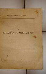 A sztahanov-mozgalom