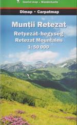 Retyezát-hegység turistatérkép 1:50000
