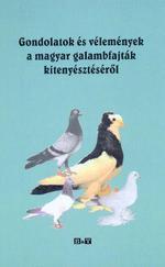 Gondolatok és vélemények a magyar galambfajták kitenyésztéséről
