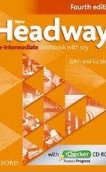 New Headway Pre-Intermediate - 4th Edition Workbook with Key - With iChecker CD-ROM
