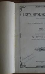 A Kath. Hitterjesztés lapjai 1906-1907