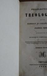 Praelectiones theologicae quas in Collegio Romano (Volumen Tertium + Quartum)