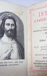 Isten a valódi szeretet Imakönyv katolikus miniatűr