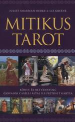 Mitikus Tarot Könyv és hetvennyolc Giovanni Caselli által illusztrált kártya