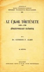 Az újkor története 1492-1789