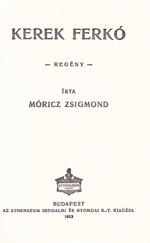 Kerek Ferkó (1913-as kötet)