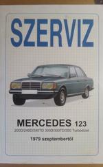SZERVÍZ: Mercedes 123