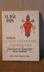A népek fejlődésének támogatásáról, pápai körlevél (Populorum progressio)