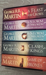 Song of ice and fire (Game of thrones) box set