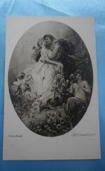 Fekete-fehér régi képeslapok -3 db