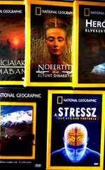 5 db National Geographic dvd egyben eladó, új, eredeti fóliázott