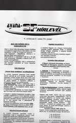 Avana sci-fi Hírlevél 74. (ajándék relikviával)