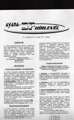 Avana sci-fi Hírlevél 73. (ajándék relikviákkal)