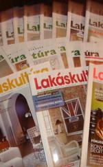 Lakáskultúra magazinok 24 db (külön is)