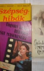Könyvek manökenekről+ Zalatnay 3 db