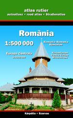 Románia autóatlasza 1:500.000