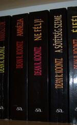 Dean R.Koontz könyvek 300-500 Ft