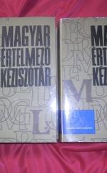 Magyar értelemző kéziszótár A-Ly/ M-ZS
