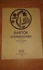 Bartók: Gyermekeknek zongorára