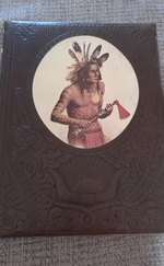 AZ INDIÁNOK (THE INDIANS) ANGOL NYELVŰ ALBUM-KÖNYV