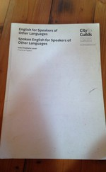 English For Speakers of Other Languages - City&Guilds - Practice Papers - Intermediate Level