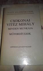 Csokonai Vitéz Mihály minden munkája - Műfordítások