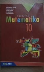 Matematika tankönyv 10.