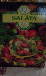 99 saláta színes ételfotóval