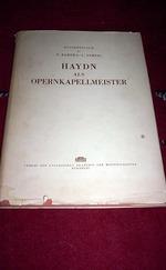 Haydn als opernkapellmeister