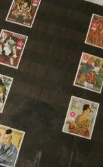 Bélyegalbum külföldi bélyegekkel