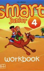 Smart Junior 4 Workbook + CD-ROM