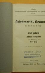 Arithmetik u. Geometrie
