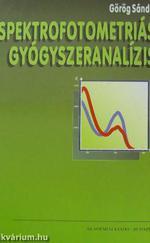 Spektrofotometriás gyógyszeranalízis