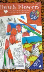 Felnőtt virágos színezőkönyv,50 rajzzal