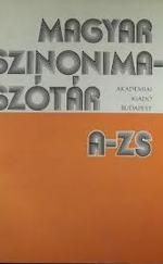 Magyar szinonimaszótár (A-Zs-ig)