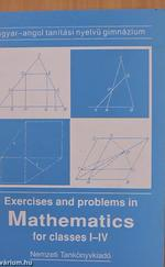 Exercises and problems in Mathematics for classes I-IV