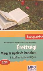 Érettségi magyar nyelv és irodalom - szóbeli