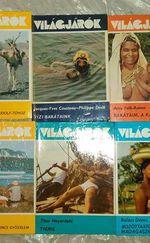 Világjárók könyvek