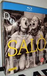 Salo avagy Sodoma 120 napja Blu-ray 1080p werkfilm dvd-vel