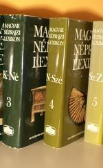 Magyar néprajzi lexikon 1-5. (A-ZS)